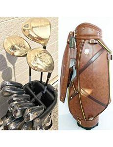 HDPP Club De Golf Nouveau Club De Golf 9 Clubs De Golf Complets Driver + Bois De Parcours + Fers + Fer + Putter + Manche en Graphite