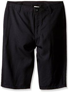 Under Armour Boys' Medal Play Golf Shorts, Black (001)/Graphite, Youth Large