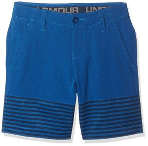 Under Armour Boys Mp Vented Nov Shorts, Moroccan Blue (487)/Moroccan Blue, 16