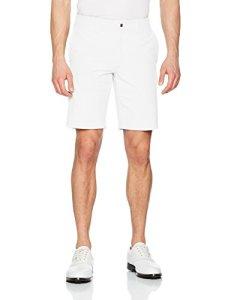 Callaway Chev Tech Short II Short de Golf, Homme, Chev Tech Short II, Blanc, 30