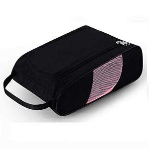 sfycstd Golf Shoes Bag Sac de Sport Respirant Portable Nylon avec étui à Chaussures Zipper Sac à Chaussures de Golf – Sacs de Transport de Chaussures à Fermeture à glissière