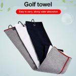 Kit de nettoyage de club brosse de nettoyage avec crochet fine serviette en microfibre gaufrée confortable et délicat, pratique portable, rallonge rétractable et clip