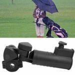 CUEA Porte-Parapluie pour voiturette de Golf, Durable Facile à Installer, Porte-Parapluie de Golf en Plastique PP, vélo réglable pour Chariot de Golf pour voiturette de Golf poignées Poussette