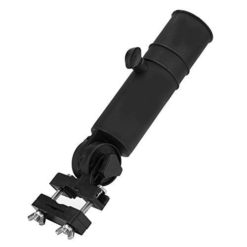 Fealay Porte-Parapluie Chariot de Golf Porte-Parapluie Porte-Parapluies Réglables pour Poignées de Voiturette de Golf (Noir)