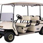 Formosa Covers Deluxe 6passagers Golf Cart (Capot Gris ou Taupe), Compatible avec E Z Go, Club de Voiture, Yamaha Modèle, Taupe