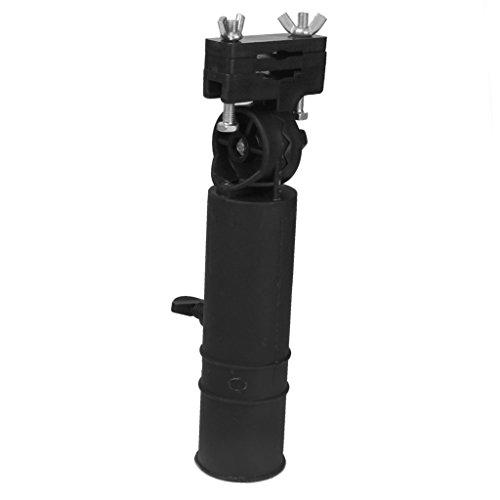 harayaa Porte Parapluie Support pour Chariots Golf Noir Accessoire Outil