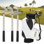 idalinya Support de Mini-stylos de Golf de Bureau Durable et Pratique Exquis, Support de Mini-stylos de Golf, Fort pour Les Souvenirs de l'entreprise de Bureau d'amis(Black and White)