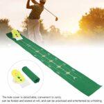 banapoy Tapis d'entraînement de Golf, Six Vitesses réglables faciles à Utiliser, entraîneur de Golf, entraîneur de Putting de Golf, pratiqué et diverti en Se dépliant pour l'entraînement de Golf à