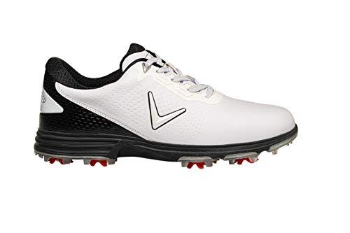 Callaway Apex Coronado Golf Shoe, Chaussures Homme, Blanc/Noir, 41 EU