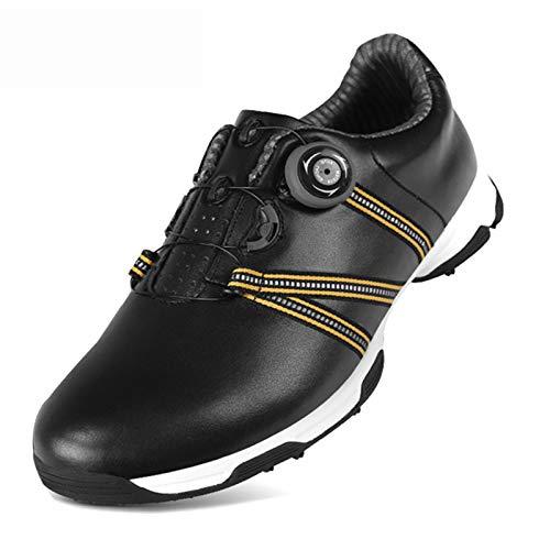 Chaussures de golf pour hommes, chaussures de sport, chaussures de sport d'entraînement de golf en plein air, chaussures de sport de golf à crampons latéraux antidérapants, chaussures de marche impe