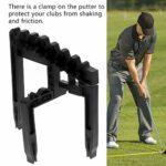 DAUERHAFT Support de Clubs Robuste Portable Pratique, pour Golfeur, Accessoires de Golf, pour Les Tournois