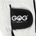 Gant De Golf Hommes Gant de Golf en Cuir véritable Peau de Mouton Respirant Gants Homme Gauche Fit Main Small Medium Large XL XXL ML (Color : Worn on Right Hand, Size : S Size 22)