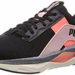 PUMA LQDCELL Shatter XT Geo Pearl WNS, Chaussure de Gymnastique Femme, Black-Peachskin-NRGY Peach, 42.5 EU