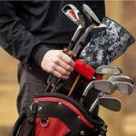XOTD Support de Club de Golf Support de Support de Club de Golf Organisateur de Club de Golf pour contenir 6 Clubs de Golf