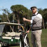 YWQ Lot de 10 Housses de Protection pour Club de Golf,Couvertures de Clubs de Golf en Fer,Couverture de tête de Club de Golf cale de Protection de Fer de cale avec Titleist Callaway Ping Cobra Nike