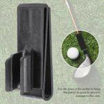 Clip de putter de golf, porte-balle de golf marqueurs de balle de golf Clip de sac de club de golf, support de club de golf Tubes de sac de golf Putters de golf pour accessoire de golf