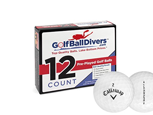 24Callaway Supersoft–Value (AAA) Grade recyclé–(utilisé) Balles de golf