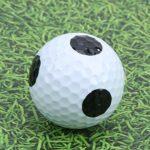 Asixxsix Balle Noire Blanche, Balle d'entraînement Professionnelle, Bonne élasticité, Balle à Point Noir, Cours de Haute qualité pour Les Amoureux