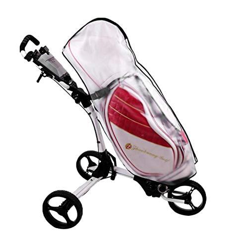 Housse de protection contre la pluie pour sac de golf, housse de pluie pour sac de golf Housse de protection contre la pluie pour sac de golf en PVC imperméable pour la plupart des sacs de golf