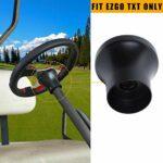 Adaptateur de volant MOSNAI EZGO pour chariot de golf EZGO TXT et EZGO RXV (Noir)