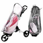 Housse de Protection Contre la Pluie pour Sac de Golf léger Transparent Portable, Housse de Sac de Golf, pour Sac de Golf Usage général Amateur de Golf Utilisation Professionnelle