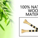 LIKOSO Tees Golf Bois 70mm Pack de 100 Tees de Golf en Bambou 2-3/4(Couleur naturell)