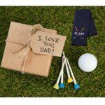 NOBRANDS Novlty Dad Serviette de golf pour fête des pères Cadeau d'anniversaire