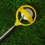 Ramasses-Balles, Portable Retriever de Balle de Golf Télescopique Amélioré en Acier Inoxydable avec Brosse de Club de Golf 3 en 1, Outil Pratique de Ramassage de Balle de Golf