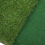 Surebuy Vert d'extérieur, 40x60cm, 2 en 1, Matériel d'herbe de PP, Pratiquer à Tout Moment, Pratique, Tapis de Golf pour Jardin avec Fond résistant à l'usure pour Les débutants