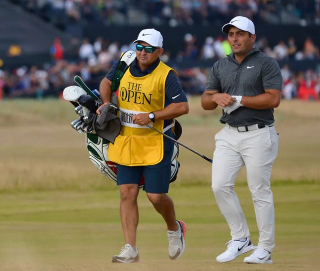 Francesco Molinari Clubs  British Open