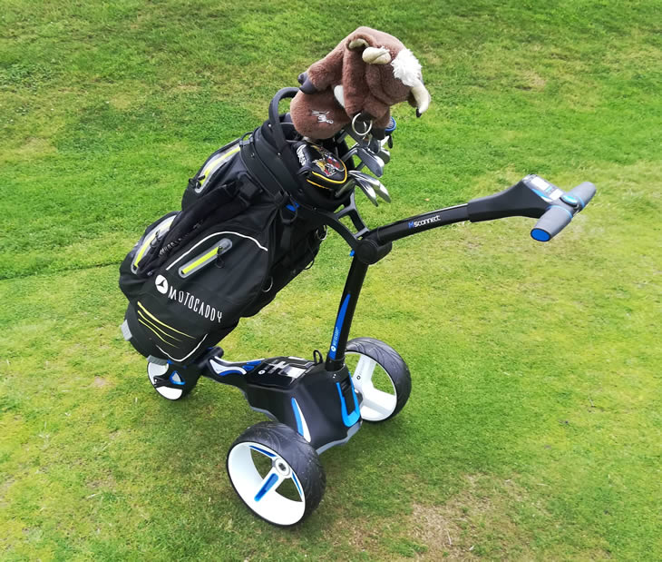 Motocaddy M5 2018 Golf Trolley
