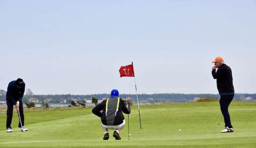 Visby Golfklubb, hål 17