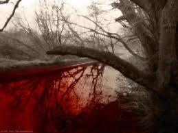 rivieren van bloed