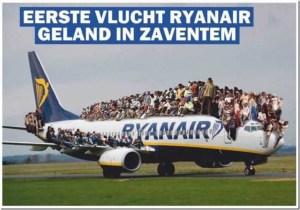 Ryanair Roemenen Zaventem