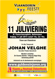 GS 11 juli 2014 affiche in mail