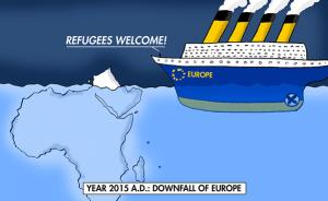 vluchtelingen welkom, het einde van europa