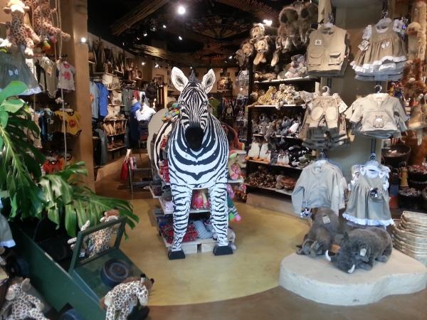 Zebra Guarding V Amp A Waterfront Gift Shop Golf By TourMiss