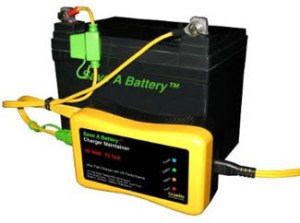 battery charger maintainer will extend your golf cart's batteries lofe