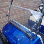 Club Car Flip Down clear golf cart windshield