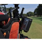 Golf cart mount for the Bushnell tour z6 laser rangefinder