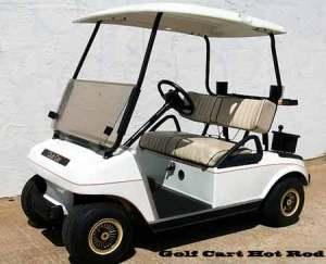 Club Car 90s Golf Cart TV Commercial