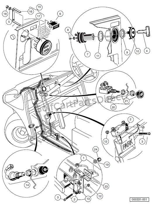 1605?resize=544%2C705&ssl=1 ingersoll rand club car wiring diagram the best wiring diagram 2017 1995 Club Car 48 Volt Wiring Diagram at fashall.co