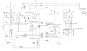 WIRING – POWERDRIVE ELECTRIC TURFCARRYALL 1  Club Car