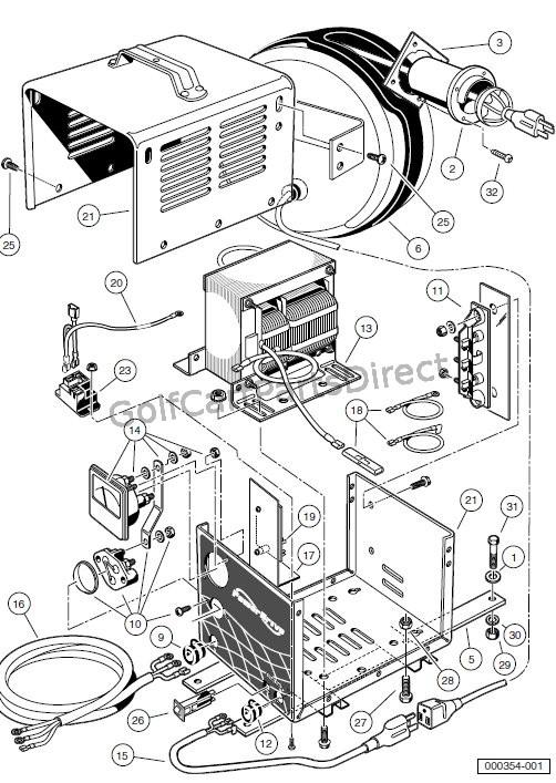 Diagram Club Car Chargers Club Car Parts Diagram Schematic Circuit