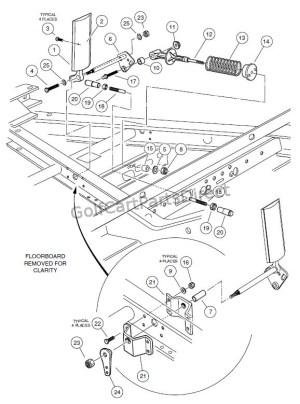 20012004 Pioneer 1200 & 1200SE  Club Car parts & accessories