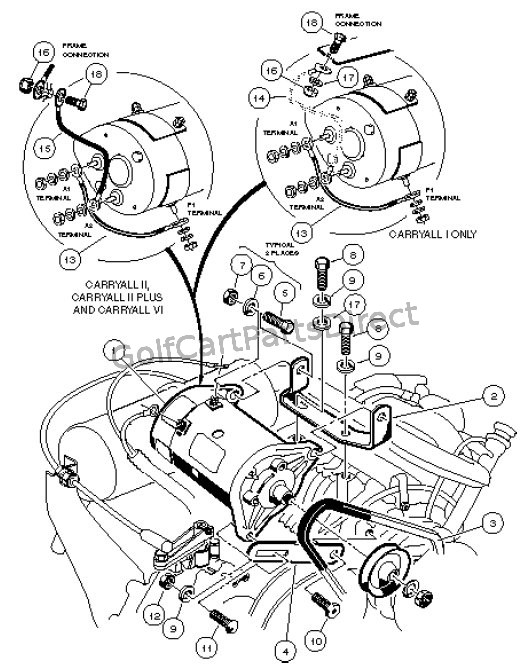 Par Car Wiring Diagram For Starter Generator