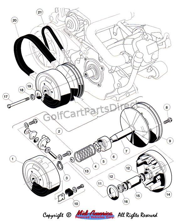 Yamaha Golf Cart Engine Parts Diagram   Reviewmotors.co