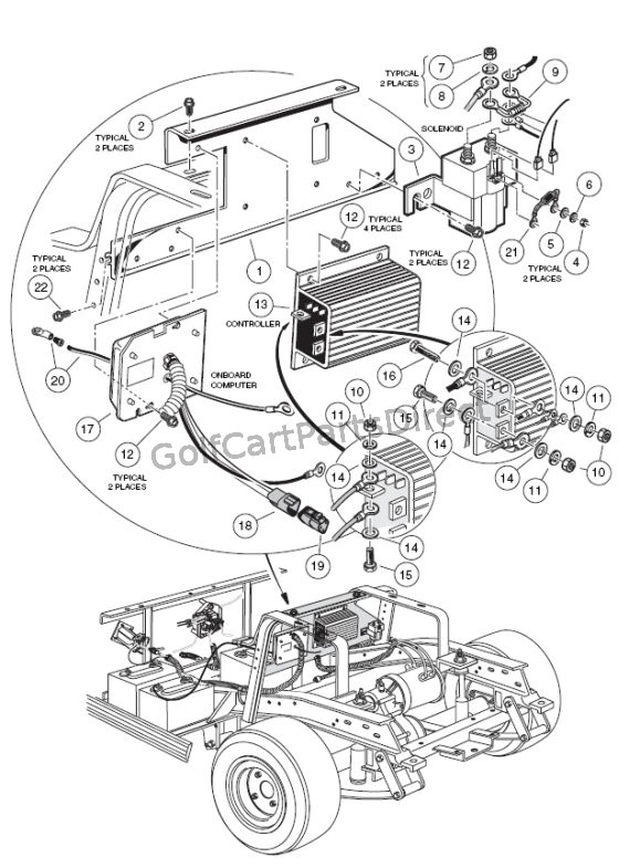 Star Golf Cart Parts Manual