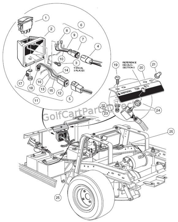 Melex Golf Cart Wiring Diagram Battery: Melex Golf Carts Model 212