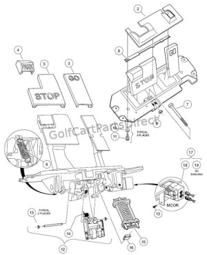 Wiring Diagram For Club Car Ds  Auto Electrical Wiring Diagram